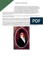 Vida y Obra de Simon Bolivar y Sus Pensamientos