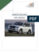 MOBOTIX Vehicle Mount Camera Solution