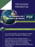 Efectos Psicológicos del Cambio Climático en el Perú