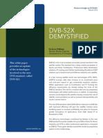 Whitepaper DVB S2X