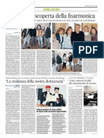 """""""La resilienza della nostra democrazia"""" - Il Corriere Adriatico del 26 marzo 2015"""