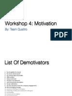 HCM - Motivation (Quatro)