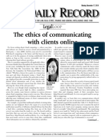 The Ethics of Communicating With Clients Online