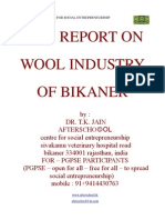 Wool Industry of Bikaner