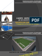 Campo Deportivo 28 de Agosto