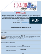 New Release - March 26, 2015