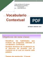 lenguaje y comunicacion. lexico contextual