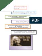 Quotes- Albert Einstein