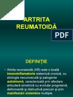 Artrita Reumatoida Curs