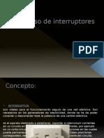 Uso de Tomacorriente e Interruptores II