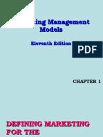 Marketing Management Models