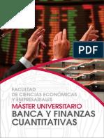 Master universitario en Banca y finanzas cuatitativas, UAM