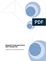 Microsoft Word 2007 Step by Step Tutorial