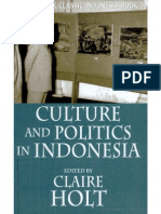Clifford Geertz Et Al - Culture and Politics in Indonesia (2007)