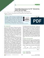 Fluorescence Pd