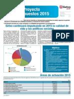 Proyecto de Presupuestos 2015