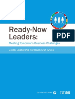 Global Leadership Forecast 2014 2015 Tr Ddi