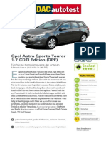 Opel Astrauzfzu Sports Tourer 1 7 CDTI Edition DPF