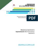 6.Desarrollo Curricula Electromec Nica Automotriz