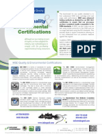 MSE Certifications 2015