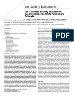 Treatment of Fungal Infections in Adult Pulmonary Critical Care and Sleep Medicine