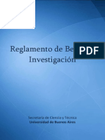 Reglamento de Becas UBACyT Completo