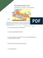 Fichas de Apoio História 7º Ano Romanos