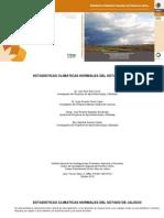 3935 Estadisticas Climáticas Normales Del Estado de Jalisco