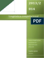 Tema 5. Lingüística Computacional
