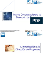 C1,2,3 Marco Conceptual PMBOK 5a Ed