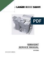 Savin CLP28 Service Manual