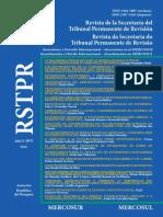 Revista de la Secretaría del Tribunal Permanente de Revisión del MERCOSUR - Año 3, Número 5 - 2015
