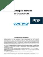 Etiquetas Para Modificar Formato Amigable CFD CFDI