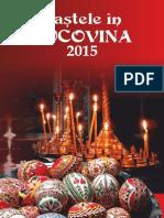 Brosura Program Pastele in Bucovina 2015