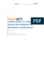 Duoc UC Dreamspark for Academic Institutions