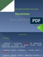 Curss 13 Tumori Melanocitare Maligne
