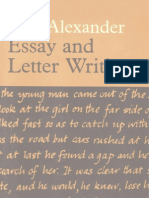 difference between essay writing and letter writing