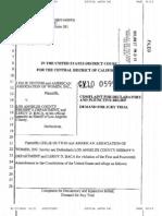 Dutton vs L.A. Sheriff Leroy Baca (CV10 0595) US Disctrict Court, California Central District