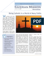 Xaverian Mission Newsletter May 2008