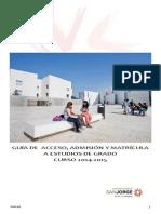Guía de Matrícula y Automatrícula