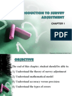 Chapter 1- Introduction to Survey Adjustment