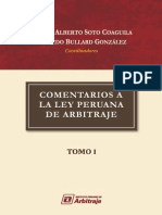 Comertarios a La Ley Peruana de Arbitraje
