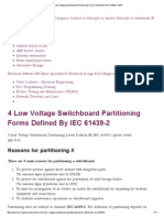 4 Low Voltage Switchboard Partitioning Forms Defined by IEC 61439-2 _ EEP