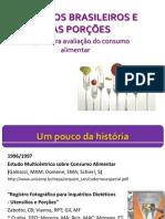 Alimentos Brasileiros e Suas Porções