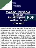 Elisão - Evasão - Elusão Fiscal