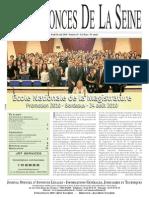 Edition Du Jeudi 26 Aout 2010