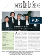 Edition Du Lundi 1 Octobre 2012
