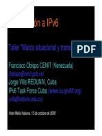 Introduccion a Ipv6
