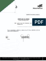 Ley de Aplicacion Normativa - Ley No. 381