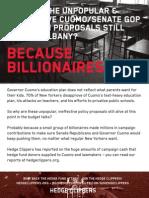 NY Senate's Hedge Fund Class of 2014